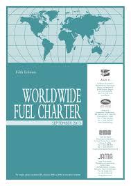 world fuel charter