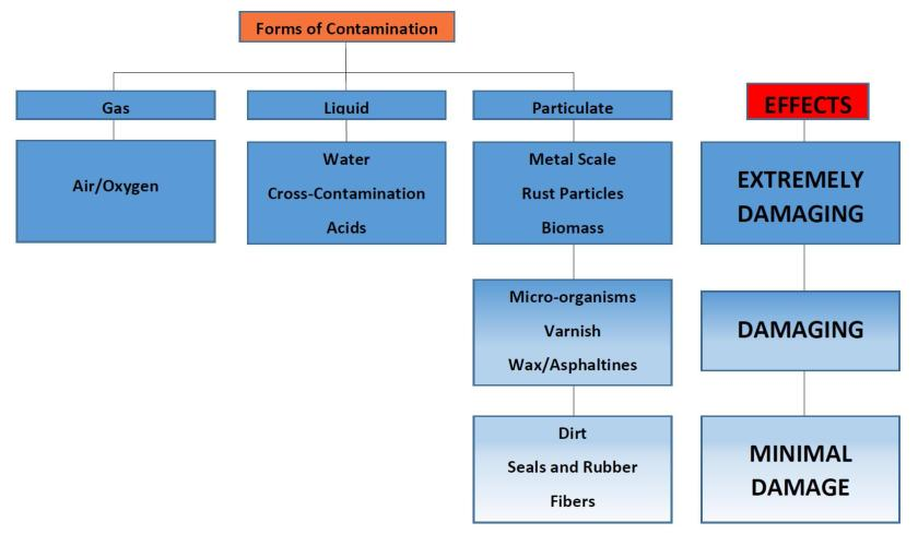 TYPES OF CONTAMINATION